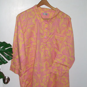 The Pajama Gram Company Baroque Nightshirt Onesize